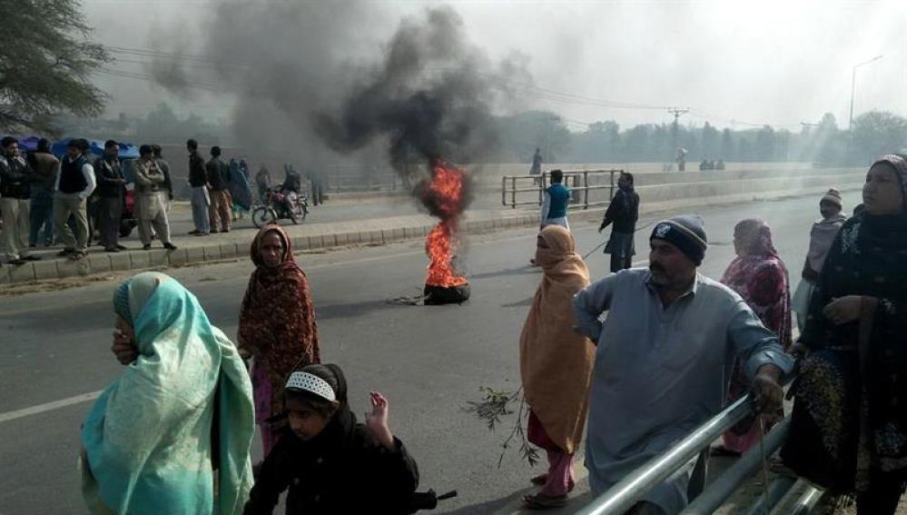 Protestas en Kasur por el asesinato de una niña