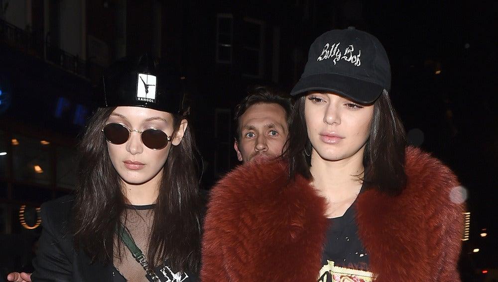 Bella Hadid y Kendall Jenner