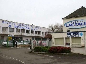 Un edificio de la empresa Lactalis