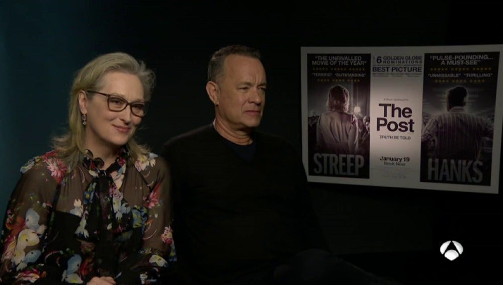 Meryl Streep y Tom Hanks