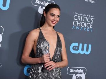 Gal Gadot en los Critics' Choice Award
