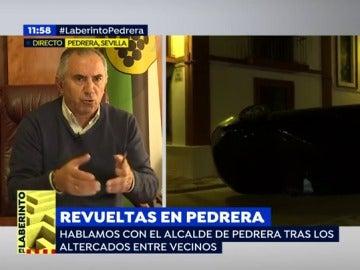 Antonio Nogales, alcalde de Pedrera