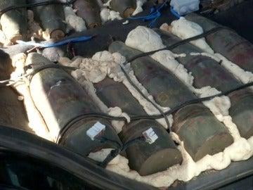 Un yihadista se entrega con un arsenal de armas en Libia