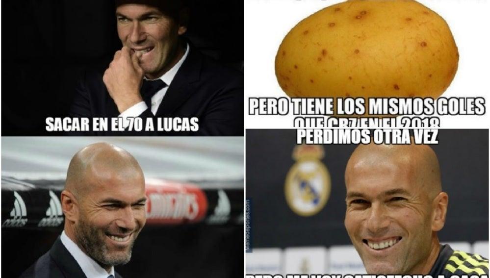 Los memes del Real Madrid - Villarreal