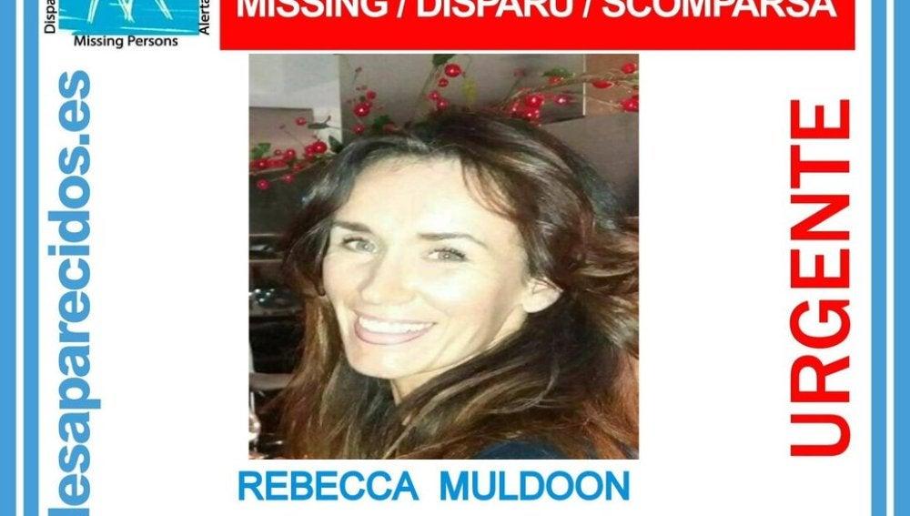 Rebecca Muldoon, desaparecida desde el 2 de enero