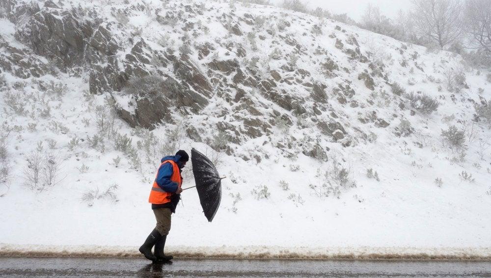 Temporal de nieve en España