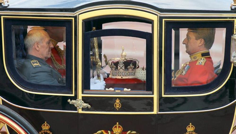 La corona de Isabel II