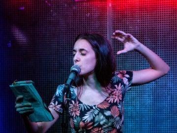 Alejandra Martínez, la ganadora del 'Poetry Slam' de Madrid