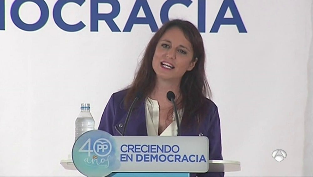 """Andrea Levy: """"No vamos a aceptar un 'ciberpolítico', no merecemos esta burla"""""""