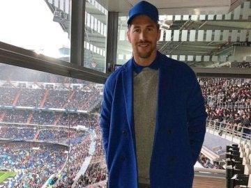 Sergio Ramos en el partido ante el Villareal