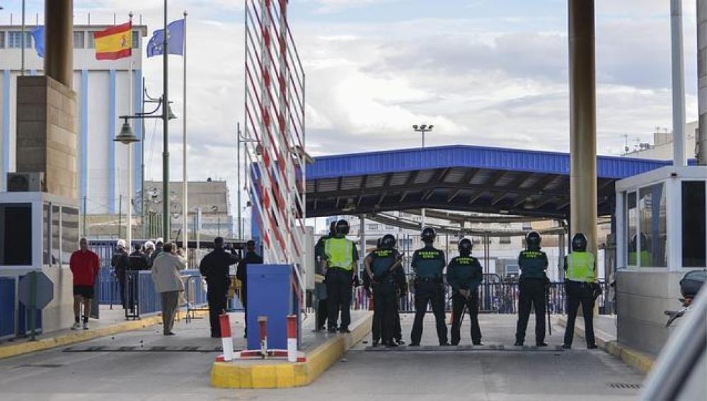 Imagen de archivo del paso fronterizo de Beni-Enzar, en Melilla