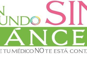 Cartel de 'Un mundo sin cáncer'