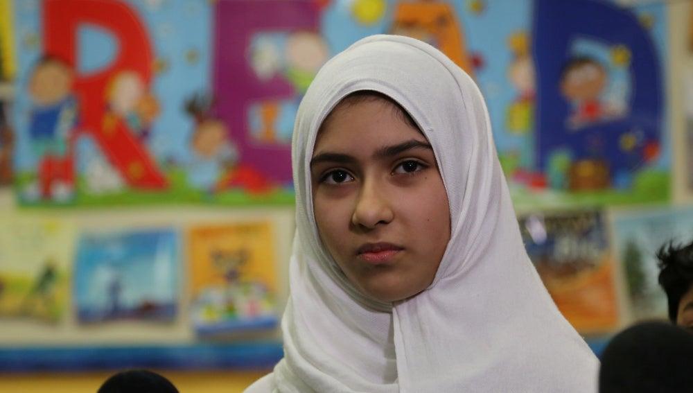 Khawlah Noman, la joven atacada en Toronto