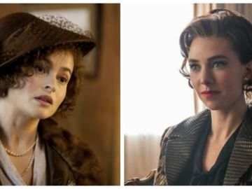 Helena Bonham Carter y Vanessa Kirby, las dos princesas Margarita de 'The Crown'