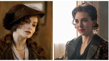 Helena Bonham Carter y Vanessa Kirby, las dos princesas Margarita de 'The Crown'