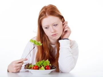 Aburrida de hacer dieta