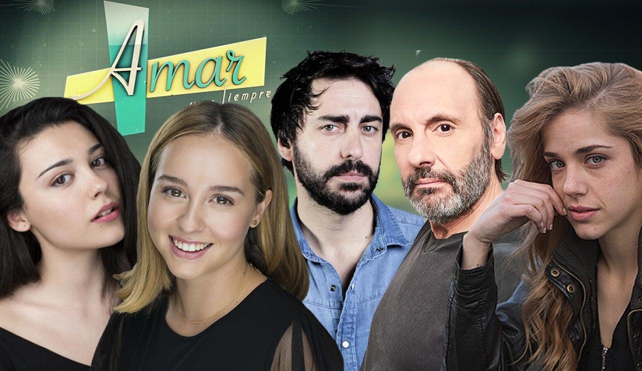 Descubre las nuevas incorporaciones en la sexta temporada de 'Amar es para siempre'