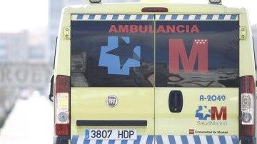 Imagen de archivo de una ambulancia del Summa
