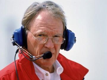 Dan Gurney, durante un Gran Premio
