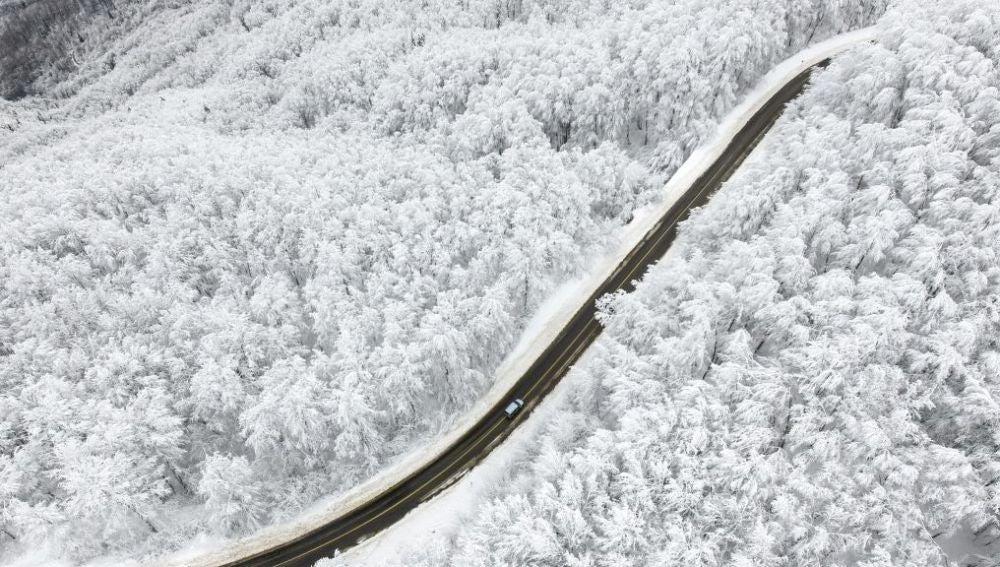 Un manto de nieve cubre Turquía (15-01-2018)