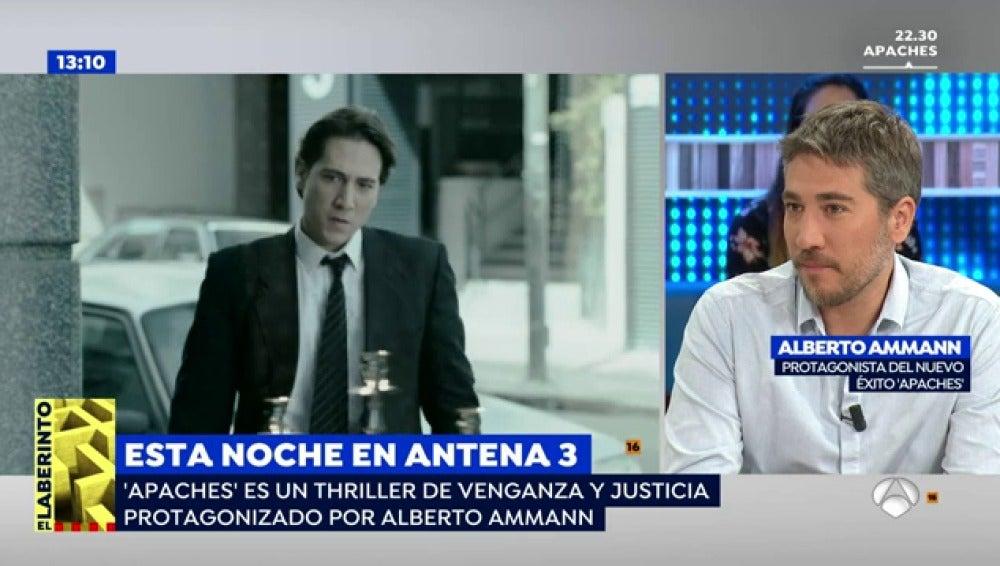 """Alberto Ammann, sobre 'Apaches': """"Yo creo que Miguel ha honrado a su padre"""""""