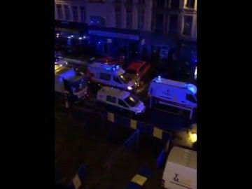 Explosión en Amberes