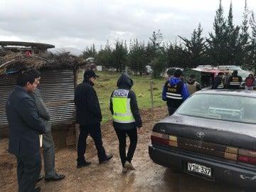Agentes de la Policía Nacional en Perú