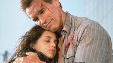 Arnold Schwarzenegger y Eliza Dushku en 'Mentiras arriesgadas'