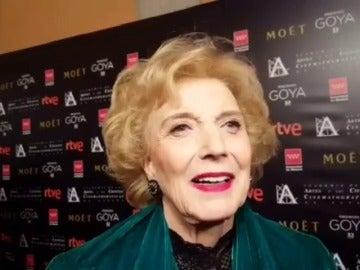 Marisa Paredes es galardonada con el Goya de Honor 2018