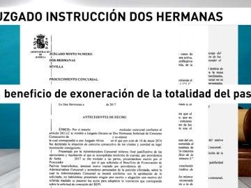 Un juez persona las deudas a un matrimonio de Sevilla arruinado tras perder el trabajo