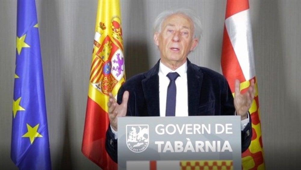 Albert Boadella, presidente ficticio de Tabarnia