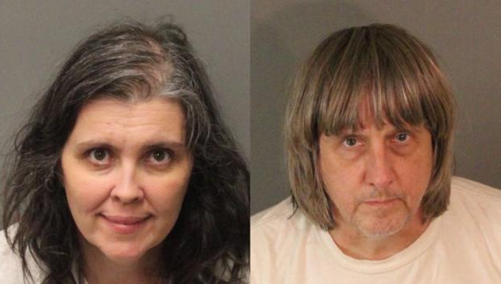 Los padres, David Allen Turpin, de 57 años, y Louise Anna Turpin, de 49