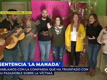 La comparsa reivindicativa para apoyar a la víctima de 'La Manada'