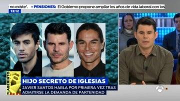 """Javier Santos, el supuesto hijo secreto de Julio Iglesias: """"Cuando supe que era mi padre no era consciente del impacto mediático"""""""