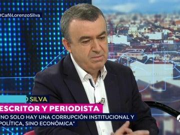 Lorenzo Silva, en Espejo Público