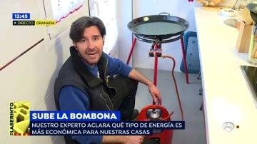 Los consejos de Manuel para ahorrar con la factura de la luz ante una nueva subida de la bombona de butano