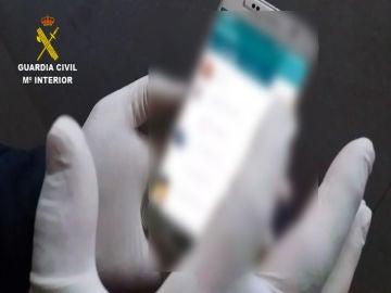 Investigación de la Guardia Civil por material pedófilo