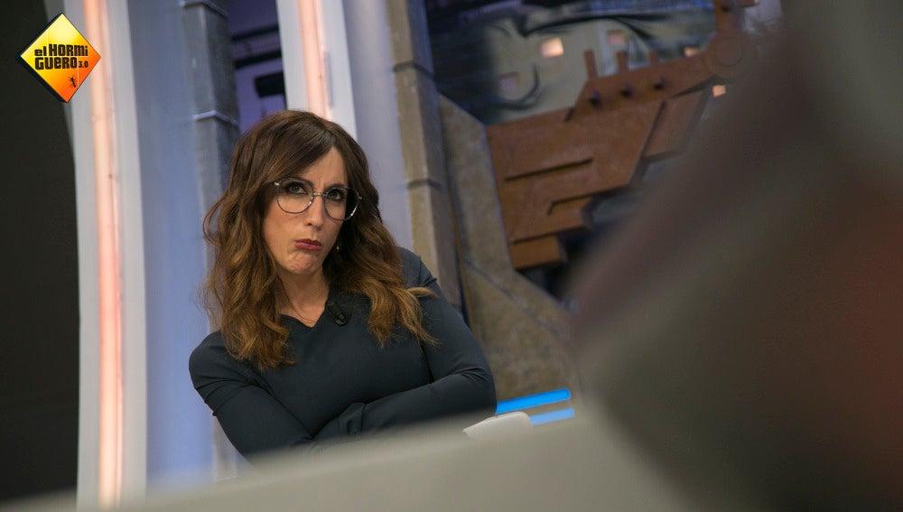 Ana Morgade imita en 'El Hormiguero 3.0' uno de los peores enfados de Cristóbal Soria en 'El chiringuito de Jugones'