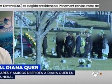 Los familiares de otros desaparecidos asistirán al último adiós de Diana Quer