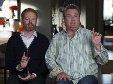 Jesse Tyler Fergurson y Eric Stonestreet en 'Modern Family'