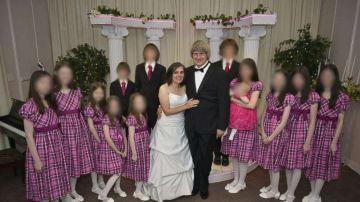 La familia Turpin, en una foto compartida en Facebook