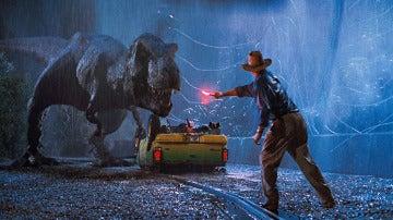 El T-Rex en 'Jurassic Park'