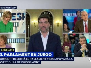 Sergi Sabrià, en Espejo Público