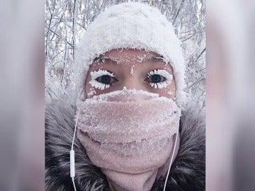 Siberia vive una ola de frío extremo con hasta 65 grados bajo cero