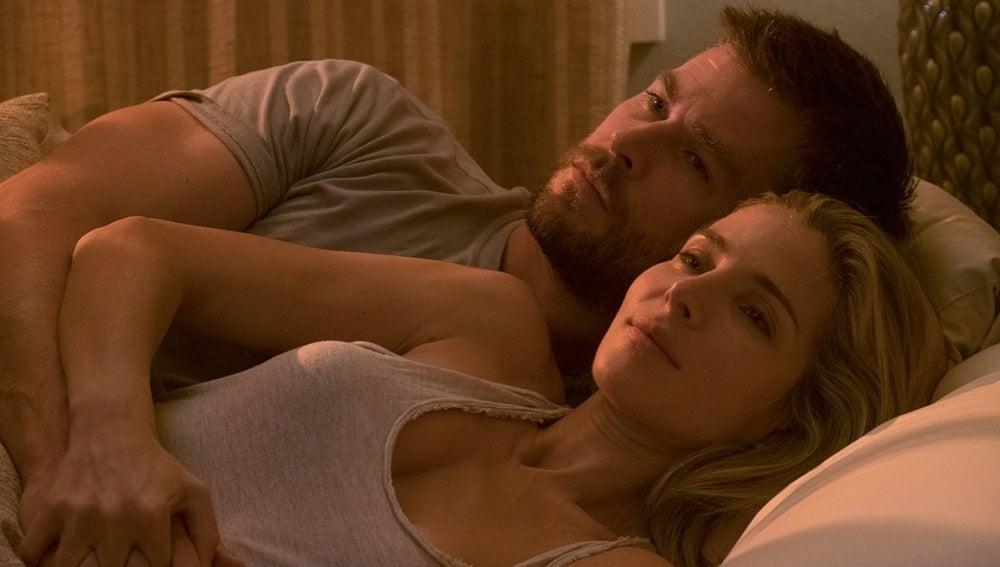 Chris Hemsworth y Elsa Pataky en '12 valientes'