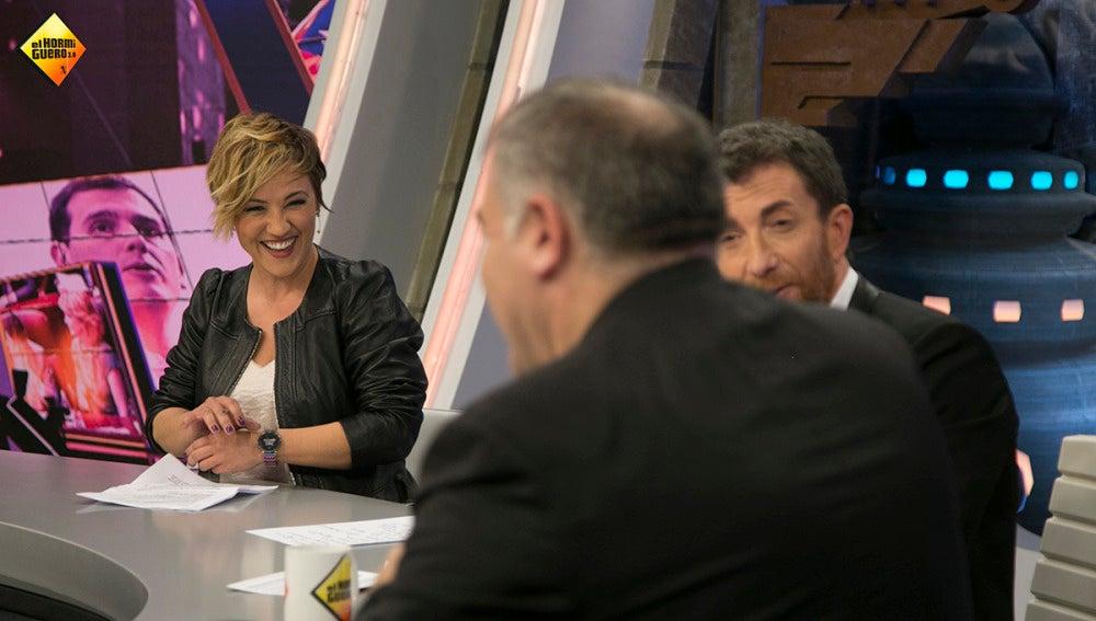 Cristina Pardo repasa los momentos más divertidos de Antonio García Ferreras en 'Al Rojo Vivo'