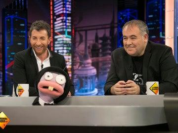 Pablo Motos y Antonio García Ferreras descubren cómo suena Atresmedia TV
