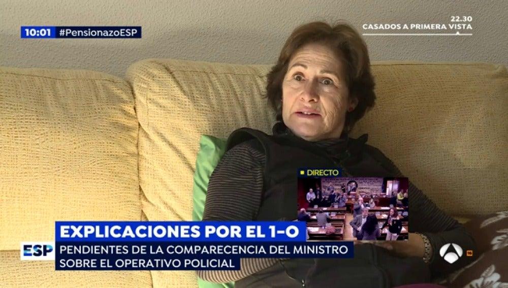 """Rosa tiene 970 euros de pensión, con la nueva propuesta cobraría 1.300: """"Mi pensión se ha quedado en una miseria"""""""