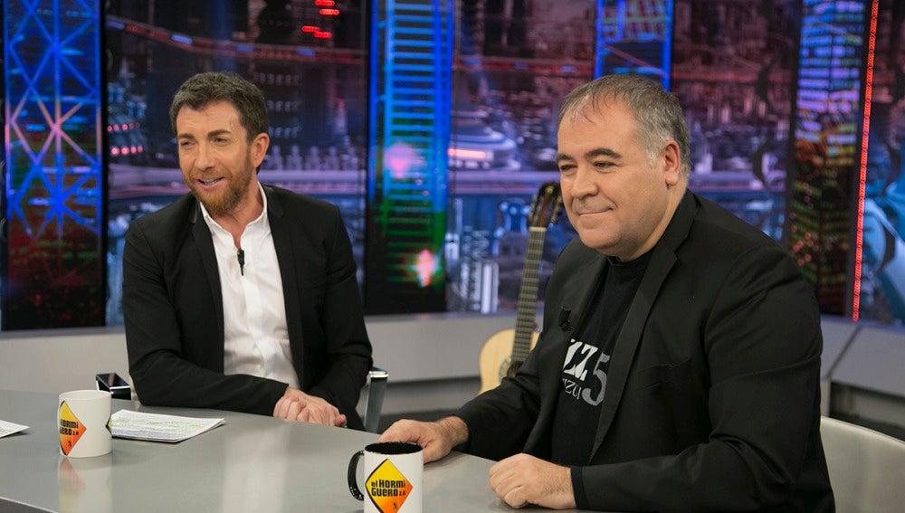 """Antonio García Ferreras: """"He tenido una magnífica relación con Mariano Rajoy, en la corta distancia es afectuoso"""""""