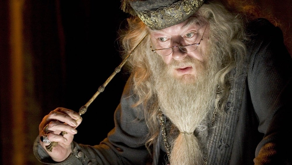Dumbledore preocupado en la vida